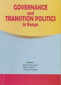 governance and transition politics in Kenya